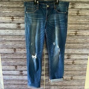 Gap1969 Distressed Straight Leg Jeans Size 31s